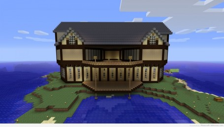 Cool Houses In Minecraft On Computer Higbi Qh Houses