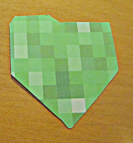Minecraft Creeper Corner Bookmark Creeper