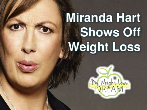 Miranda Hart Shows Off Weight Loss Cbu Miranda Hart