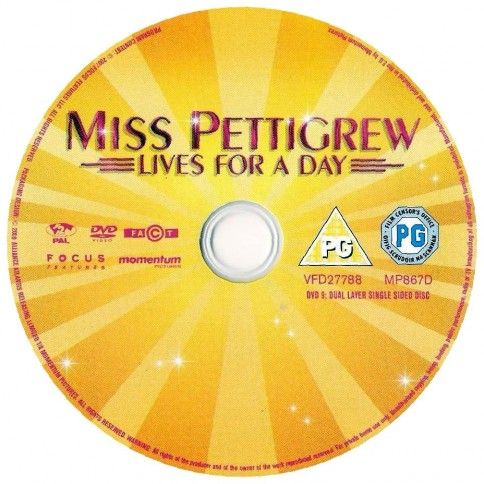Miss Pettigrew Lives For Day Ws Cd Wwwgetdvdcoverscom Miss Pettigrew Lives For Day