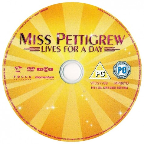 Miss Pettigrew Lives For Day Ws Cd Wwwgetdvdcoverscom Movie