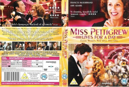 Miss Pettigrew Lives For Day Ws Front Wwwgetdvdcoverscom Miss Pettigrew Lives For Day