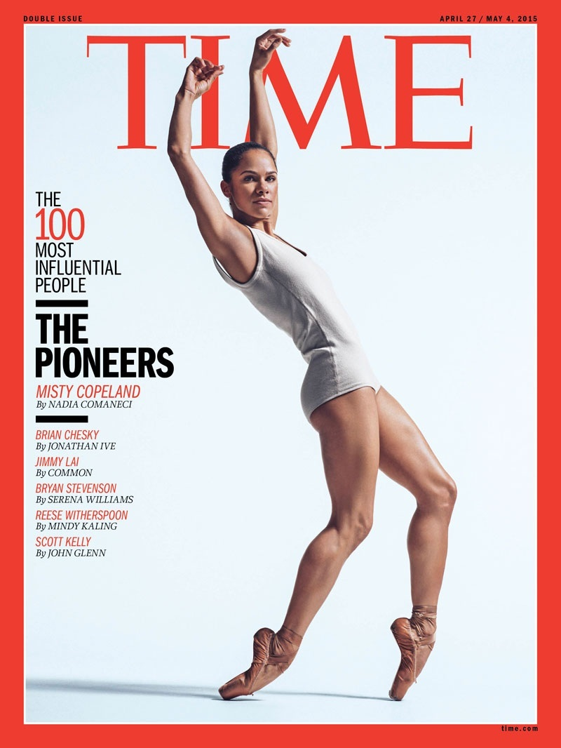 Time Misty Copeland Cover