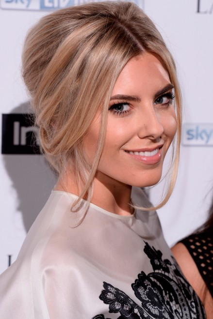 Mollie King Relaxed Beehive At The Instyle Best Of British Talent Party Mollie King