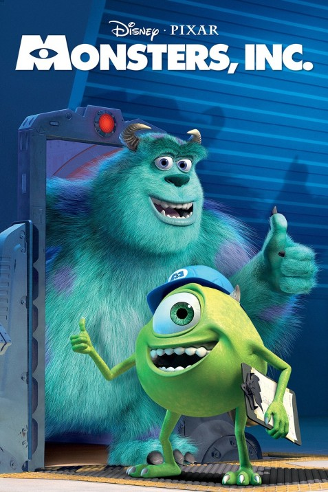 Monsters Inc Movie Poster Monsters Inc
