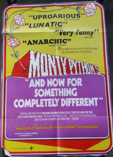 Original Monty Python And Now For Something Completely Different