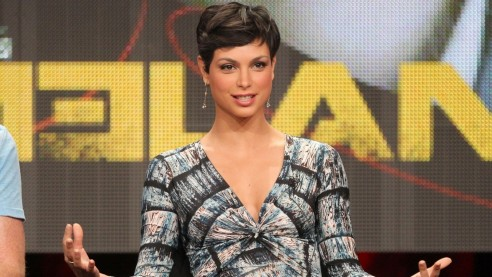 Morena Baccarin Promove Serie Homeland Em Beverly Hills Na California The Oc