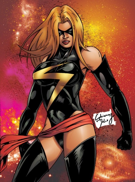 Miss Marvel By Adrianomediano Qza Avengers Age Of Ultron Whedon Secret Could She Be Our Ms Marvel
