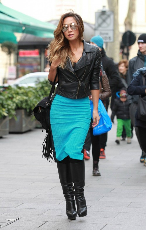 Myleene Klass Out And About In London Myleene Klass