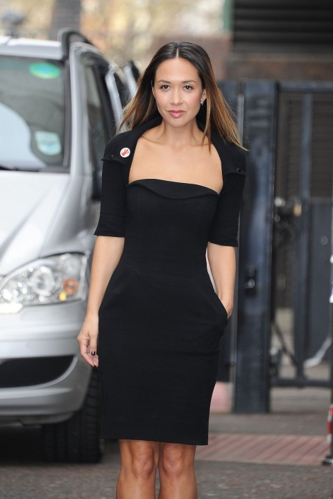 Myleene Klass Style At The Itv Studios In London March Myleene Klass