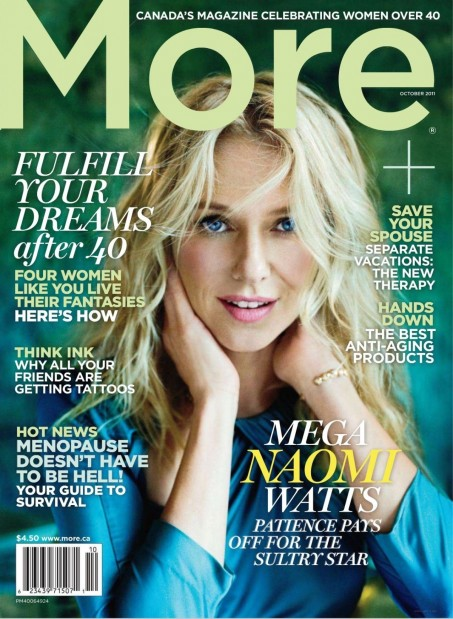 Naomi Watts More Magazine Oct Nicole Kidman And Naomi Watts Aussie Bffs