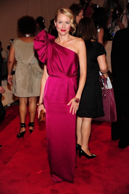 Naomi Watts Pink Stella Mccartney Gown Met Gala