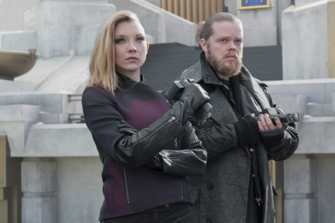 The Hunger Games Mockingjay Part Production Stills Natalie Dormer Natalie Dormer