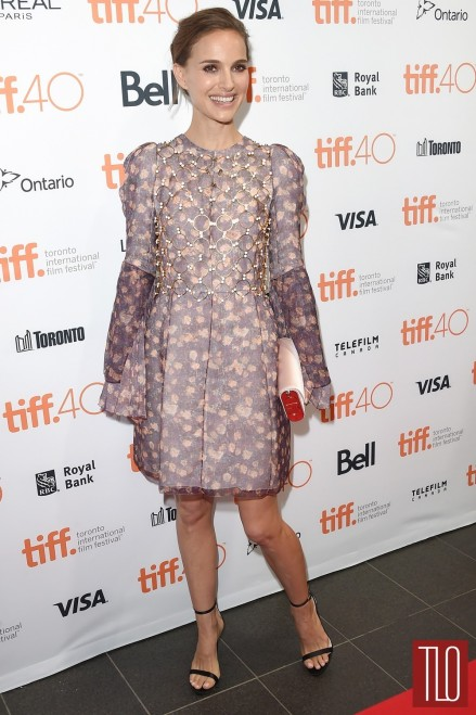 Natalie Portman Toronto Film Festival Fundraising Soiree Red Carpet Fashion Dior Couture Tom Lorenzo Site Tlo