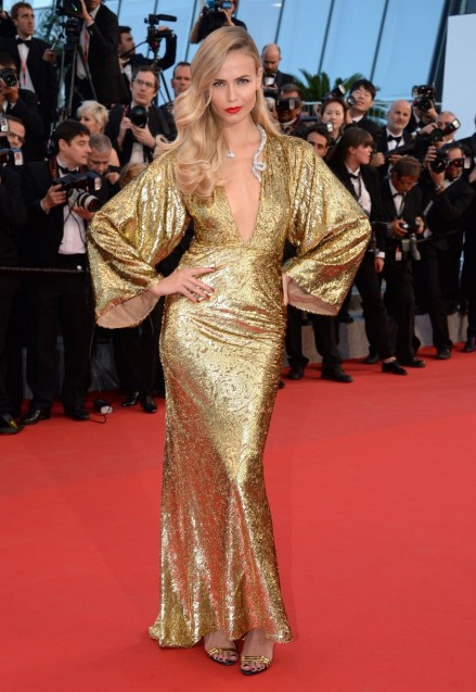 Natasha Poly The Sea Of Trees Premiere At Cannes Film Festival Victoria Secret