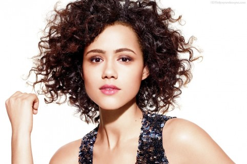 Nathalie Emmanuel In Brown Hair Style Movies