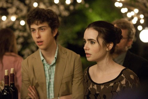 Nat Wolff And Lily Collins In Stuck In Love Nat Wolff