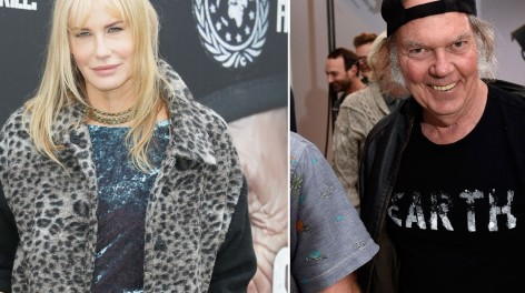 Daryl Hannah Neil Young Neil Young