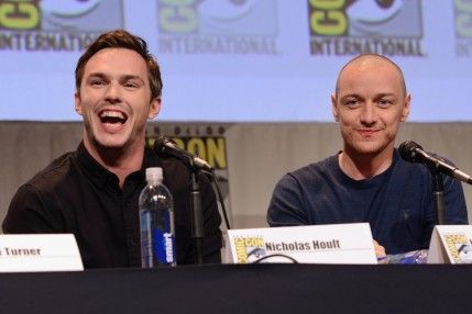 Nicholas Hoult And James Mcavoy At Men Apocalypse Nicholas Hoult