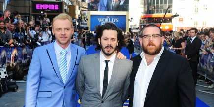 Lan Ape Movies The Worlds End Premiere Simon Pegg Edgar Wright Nick Frost Nick Frost