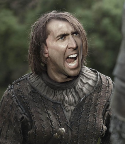 Nicolas Cage In Game Of Thrones
