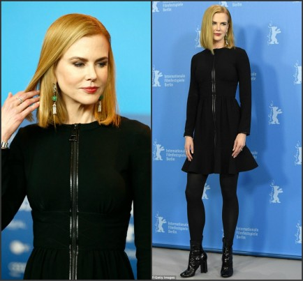 Nicole Kidman In Louis Vuitton At The Queen Of The Desert Berlin Film Festival Photocall Fashion