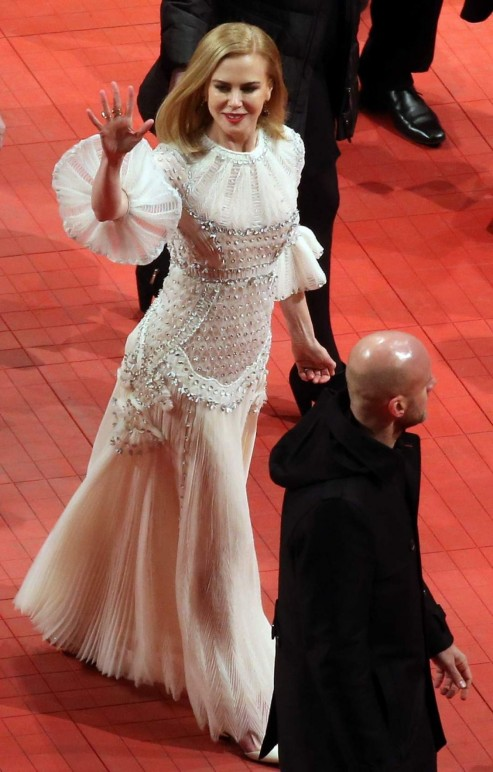 Nicole Kidman On The Redcarpet Of Queen Of The Desert Premiere During The Th Berlinale Iff