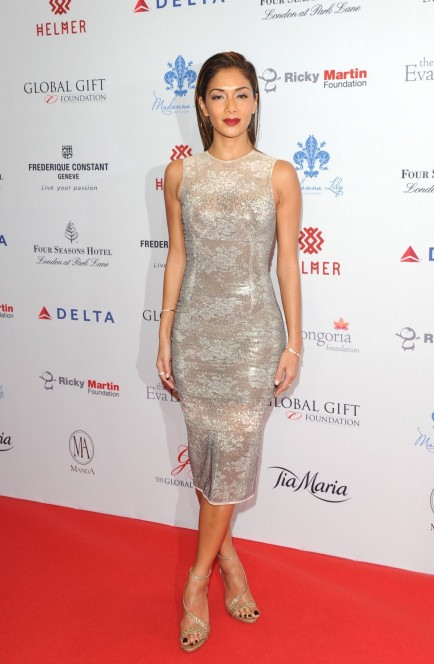 Nicole Scherzinger Attends The Global Gift Gala London