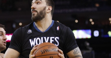 Usp Nba Minnesota Timberwolves At Golden State Wa Nikola Pekovic
