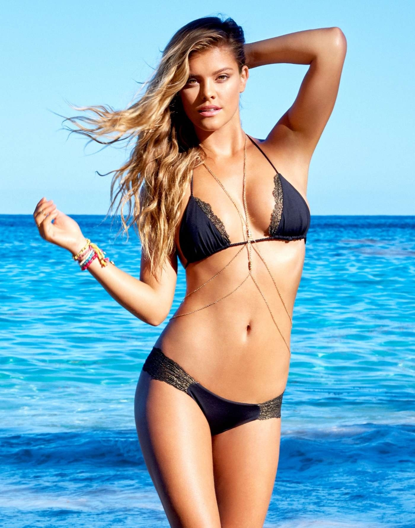 Nina Agdal Beach Bunny Bikini March Beach