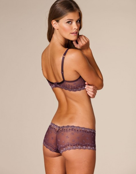 Nina Agdal Calzedonia Nelly Lingerie Hot