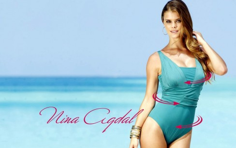 Nina Agdal Hd Background