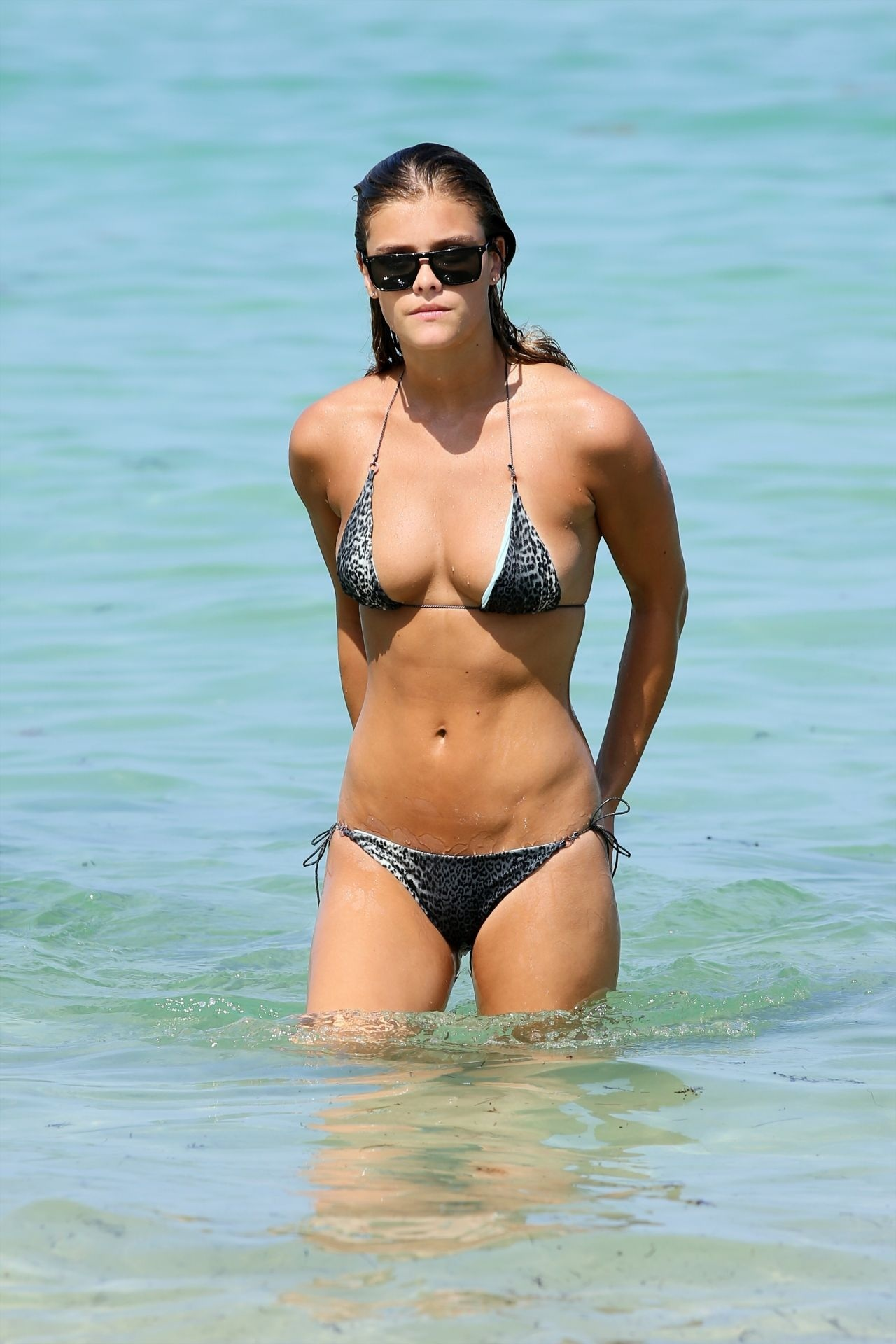 Nina Agdal Hot In Bikini In Miami July Nina Agdal