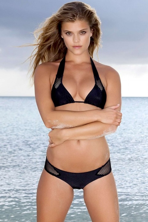 Nina Agdal Hot In Luli Fama Swimwear Photoshoot Hot