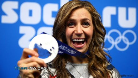 Silver Medal In The Discipline Skeleton Noelle Pikus Pace Of The United States Noelle Pikus Pace