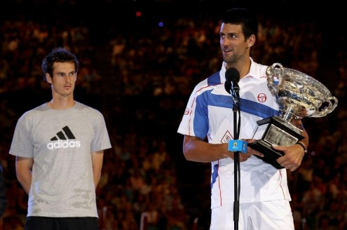 Andy Murray Obstacle With Novak Djokovic Wedding
