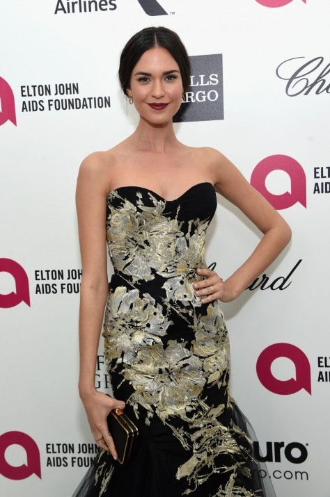 Odette Annable Elton John Aids Foundation Oscar Viewing Party In Hollywood Odette Annable