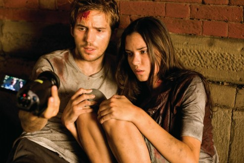Still Of Odette Annable And Michael Sta David In Cloverfield And Dave Annable