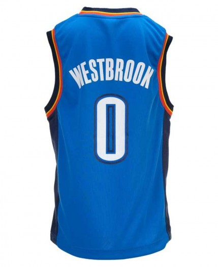 Adidas Kids Russell Westbrook Oklahoma City Thunder Revolution Jersey Product Normal Vest