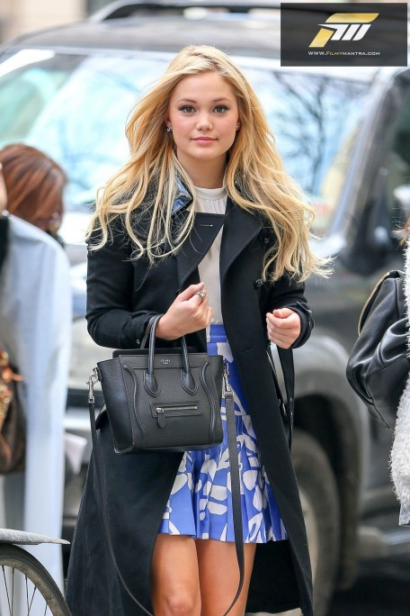 Olivia Holt Casual Style Out In New York City March Olivia Holt