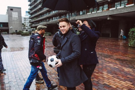 Gallery Music Olly Murs Robbie Williams Hands On Heart Bts Pics Olly Murs