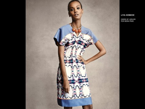 Ladies Of Fashion Liya Kebede Oluchi Onweagba More Join Shopbop To Launch The Born Free Limited Edition Collection Fab Magazine Oluchi Onweagba