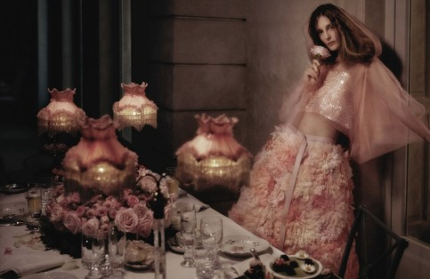 Vogue Germany May Edie Olympia Campbell By Karl Lagerfeld Olympia Campbell