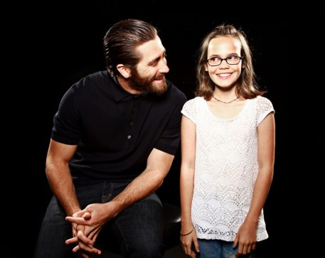Jake Gyllenhaal And Oona Laurence Southpaw Sisriusxm Town Hall Portraits