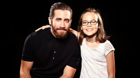 Jake Gyllenhaal And Oona Laurence Southpaw Sisriusxm Town Hall Portraits Movies