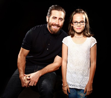 Jake Gyllenhaal And Oona Laurence Southpaw Sisriusxm Town Hall Portraits Southpaw