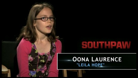 Southpaw Oona Laurence Featurette The Weinstein Company Oona Laurence