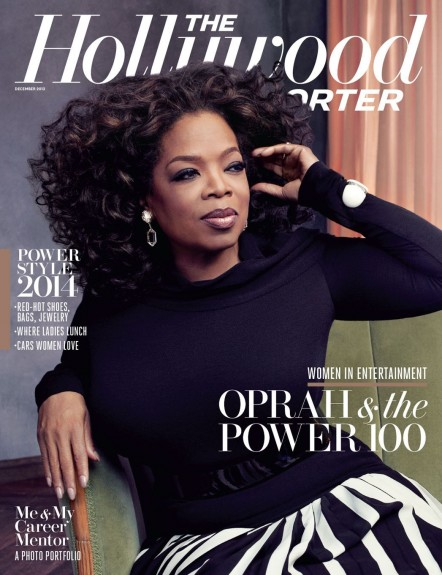Hollywood Reporter Cover Oprah Oprah Winfrey