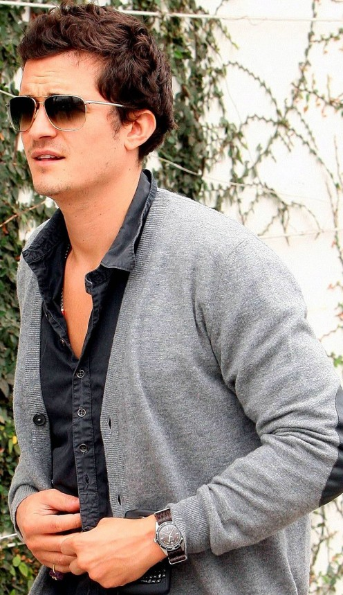 Orlando Bloom Rolex Milgauss Movies