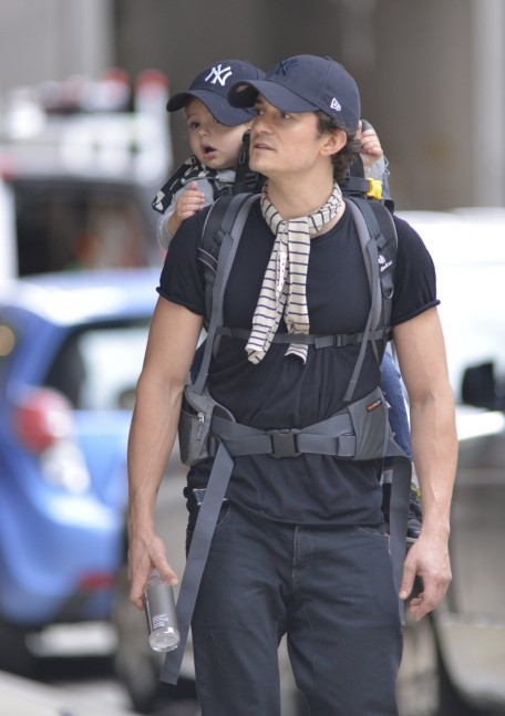 Orlando Bloom Son Flynn Fashion